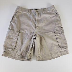 Polo Ralph Lauren Khaki Cargo Shorts Size 34
